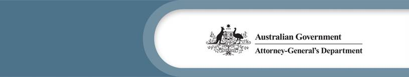 Australian Government | Attorney-General's Department logo